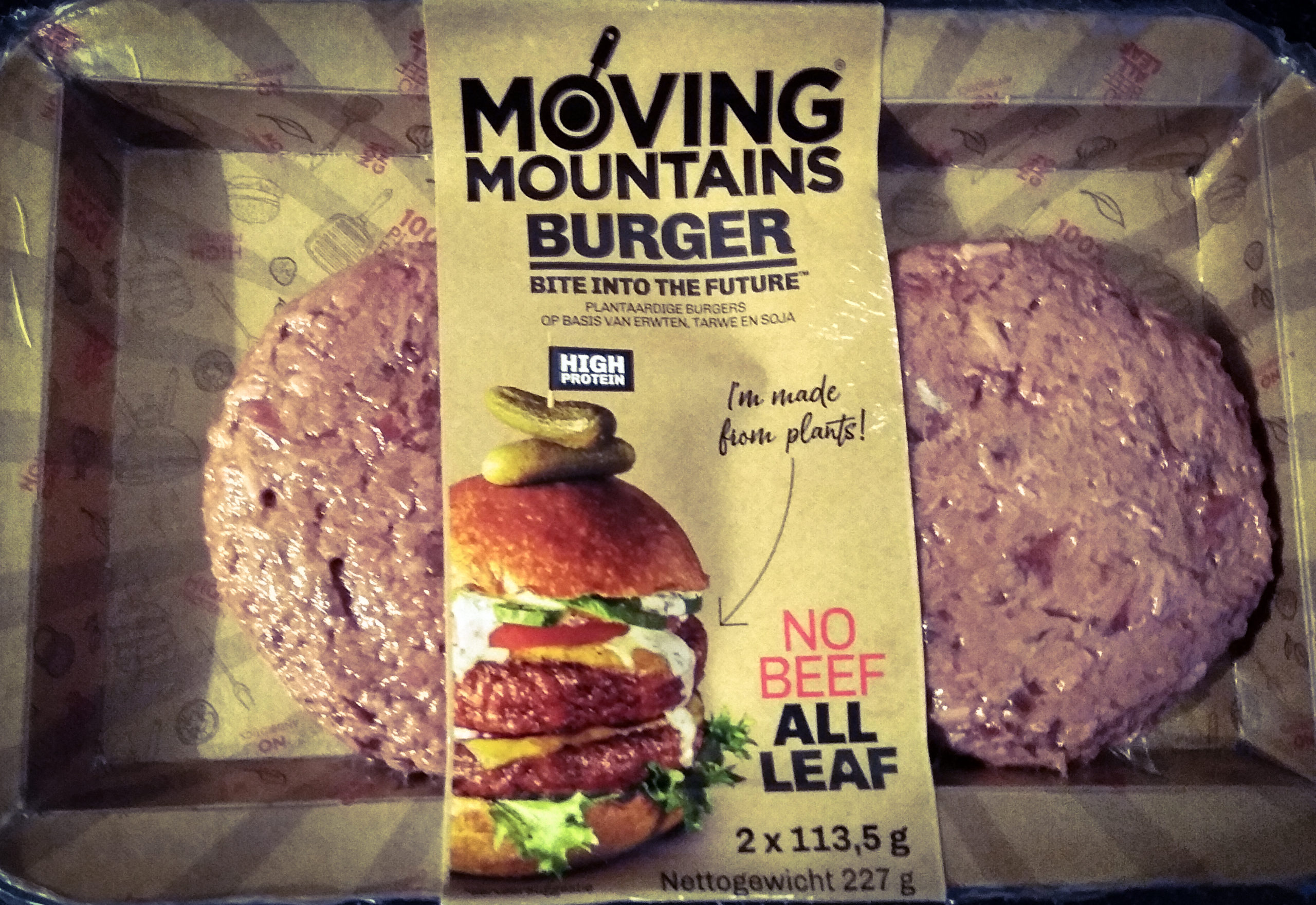 Moving Mountains Burger